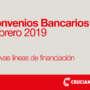 Convenios Bancarios – Febrero 2019